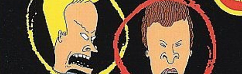 Banner Beavis and Butt-Head