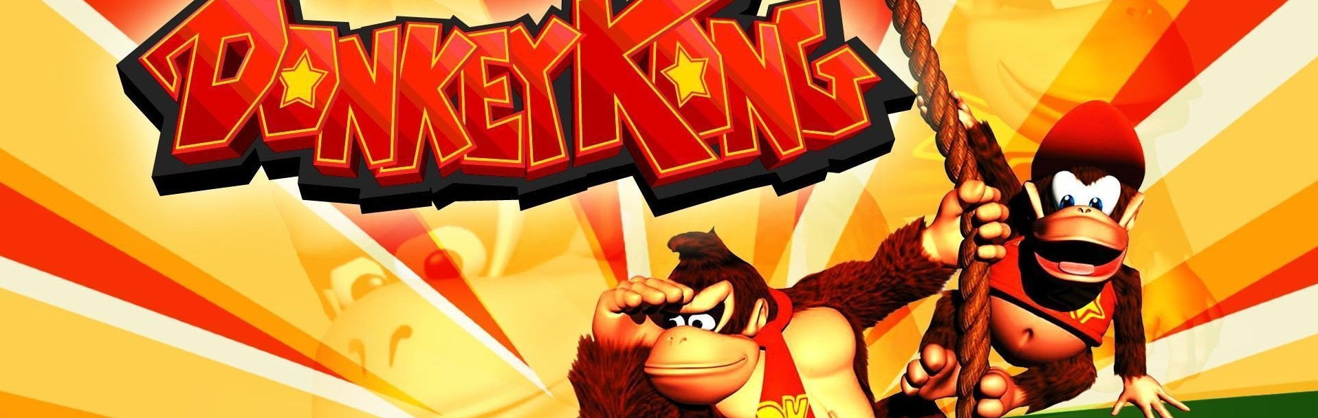 Banner Donkey Kong Country