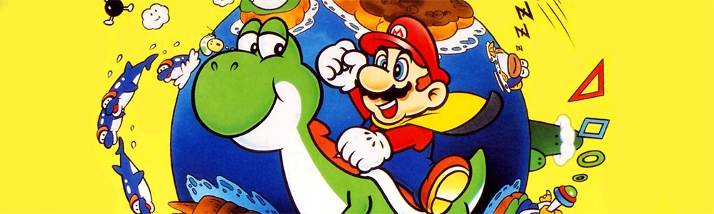 Banner Super Mario World
