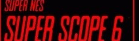 Banner Super NES Nintendo Scope 6