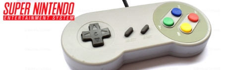 Banner Super Nintendo Controller Third Party