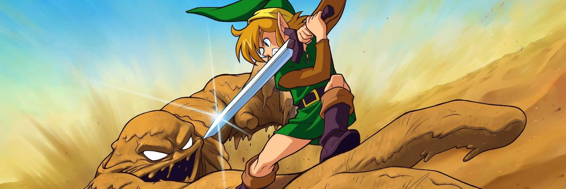 Banner The Legend of Zelda A Link to the Past