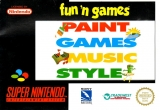 Fun 'n Games: Paint Games Music Style voor Super Nintendo
