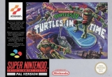 Teenage Mutant Hero Turtles IV: Turtles in Time voor Super Nintendo