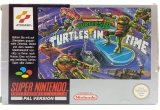 Teenage Mutant Hero Turtles IV: Turtles in Time Compleet Duitstalig voor Super Nintendo
