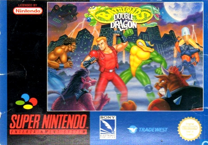 Boxshot Battletoads & Double Dragon