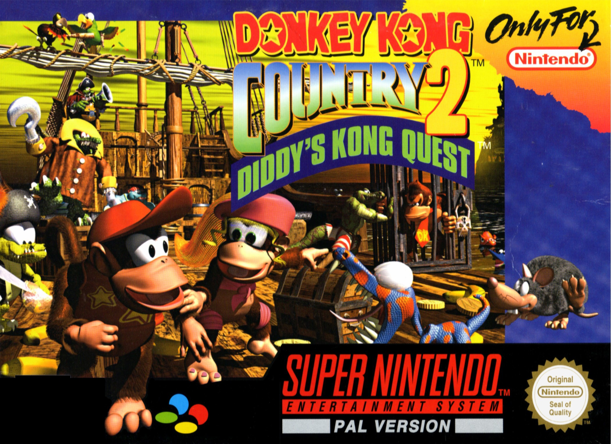 Boxshot Donkey Kong Country 2: Diddy's Kong Quest