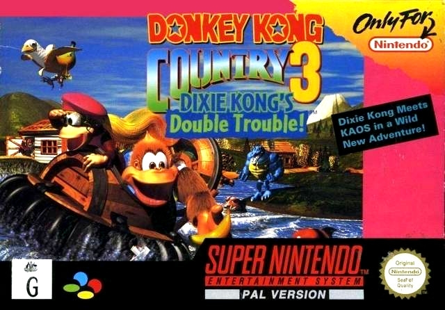 Boxshot Donkey Kong Country 3: Dixie Kong's Double Trouble!