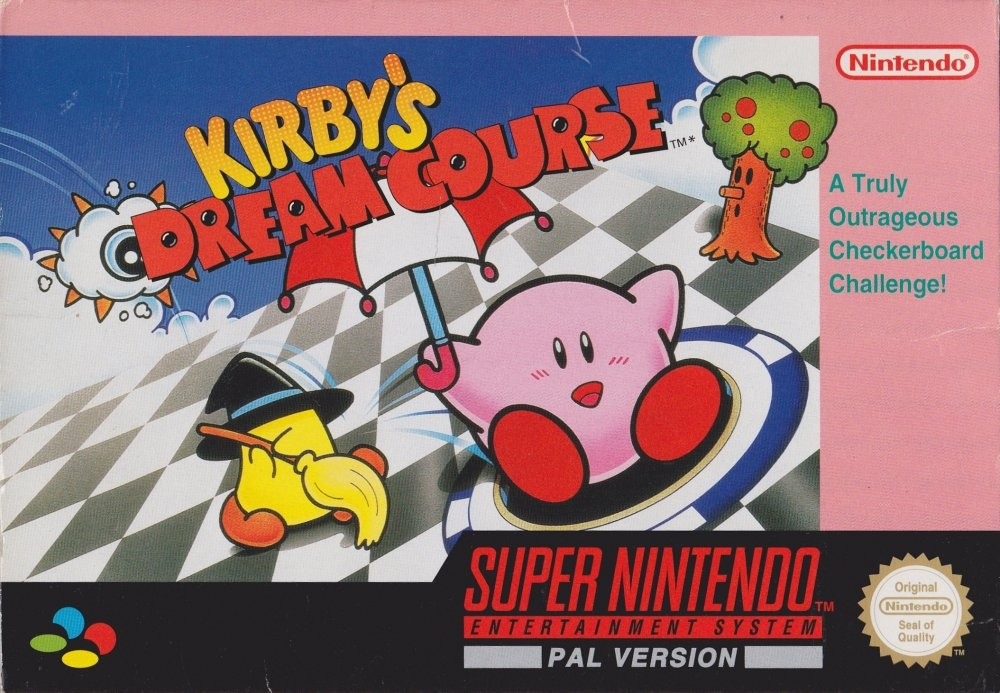 Boxshot Kirby's Dream Course