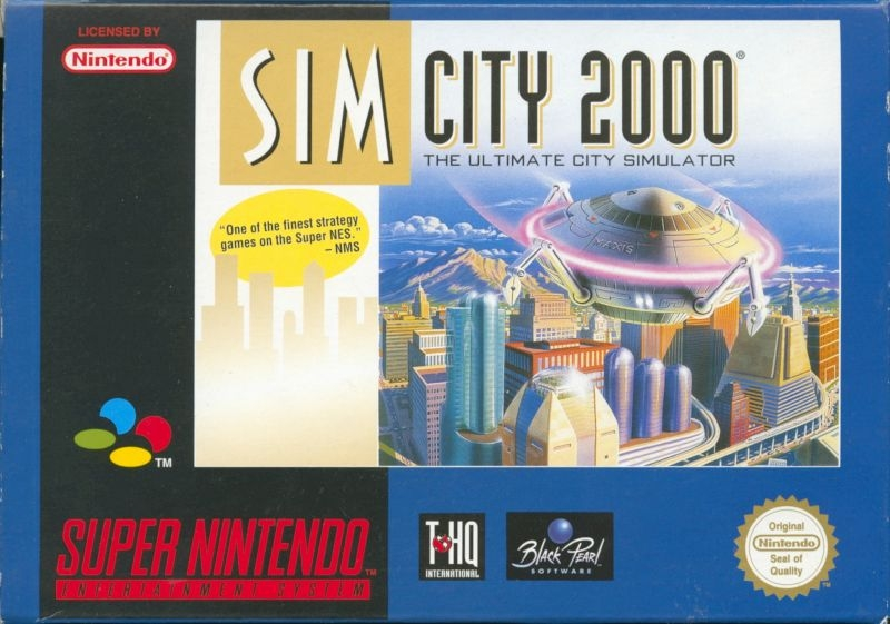Boxshot SimCity 2000: The Ultimate City Simulator