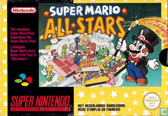 Boxshot Super Mario All-Stars