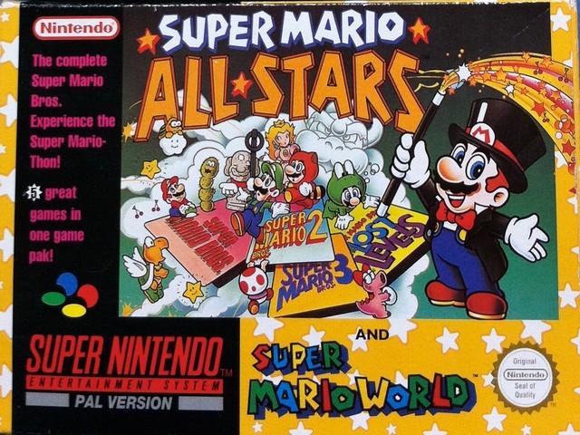 e4980d1be25 Super Mario All-Stars & Super Mario World - SNES All in 1!