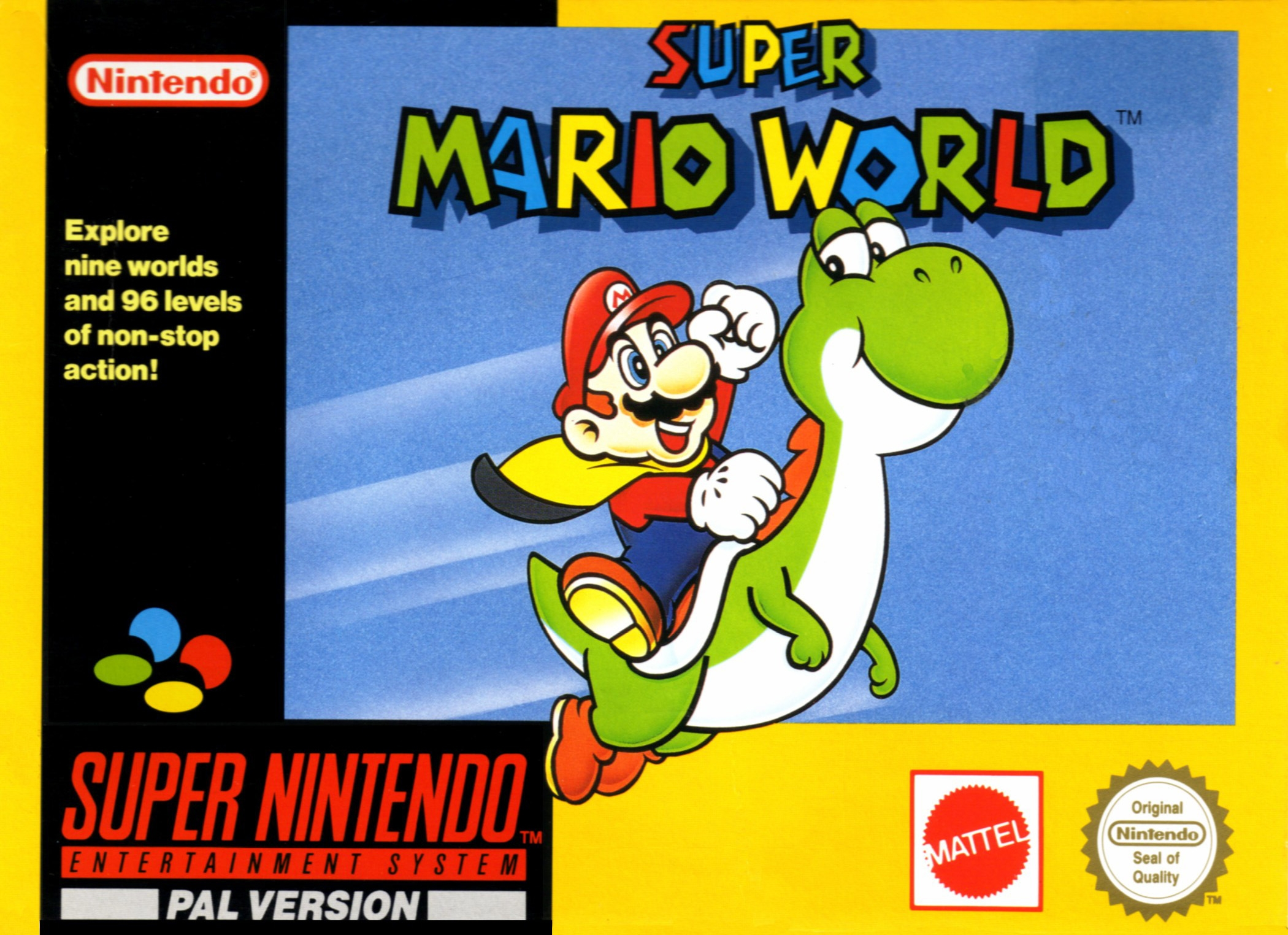 Boxshot Super Mario World
