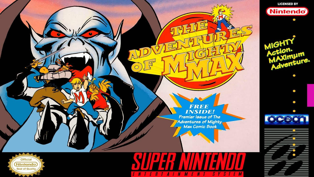 Boxshot The Adventures of Mighty Max
