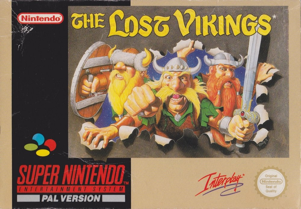 Boxshot The Lost Vikings