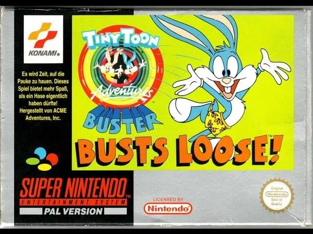 Boxshot Tiny Toon Adventures: Buster Busts Loose!