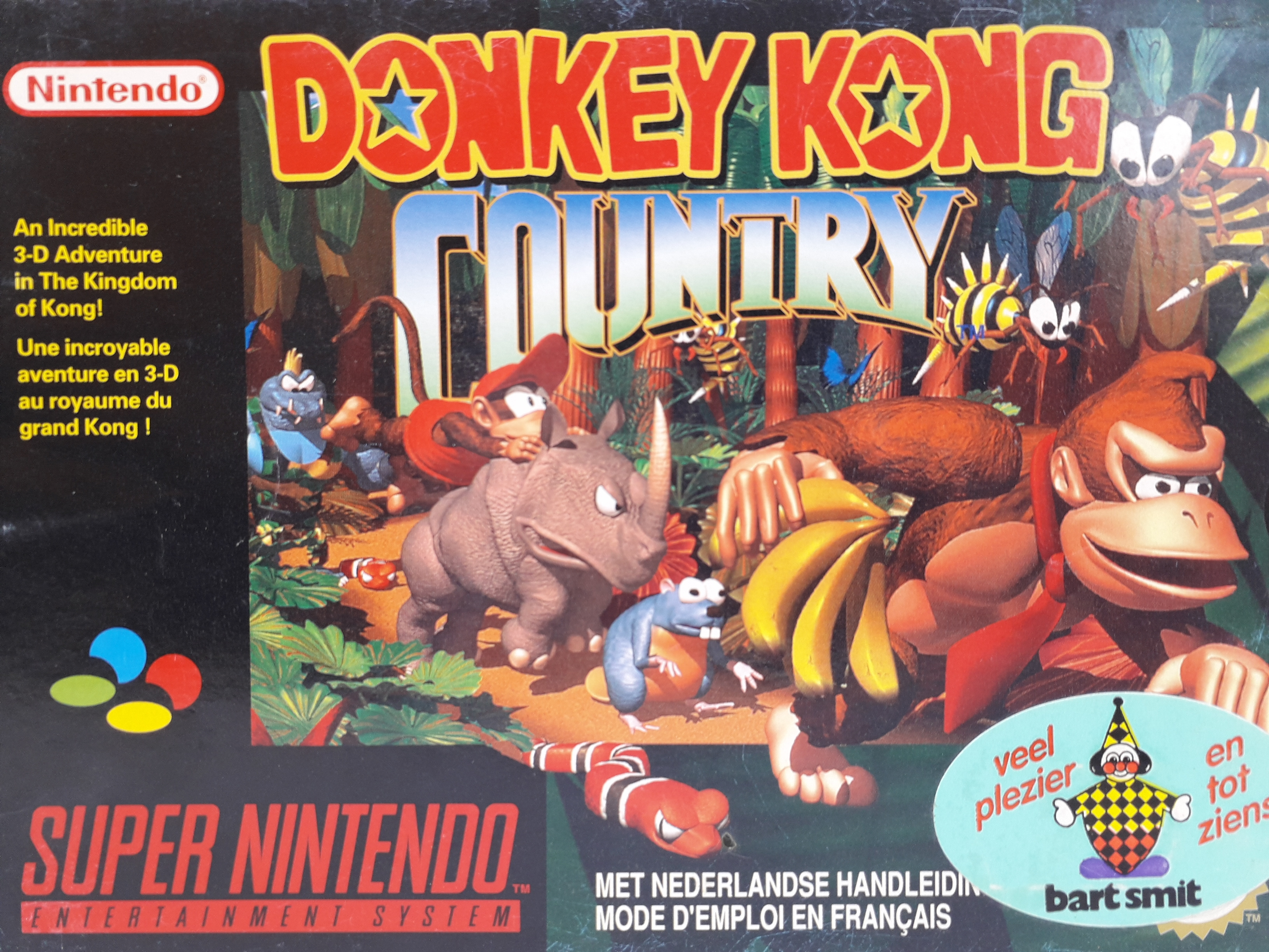 Foto van Donkey Kong Country Compleet