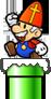 Sinterklaas Mario SNES