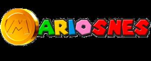 Logo Mario SNES