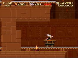 Deze game speel je zonder Obelix, dus alleen met Asterix.