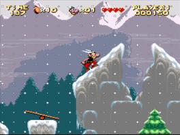 In het spel kom je overal ter wereld, zie hier de noordpool!