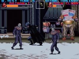 Deze game doet toch frisser aan dan de eerste game <a href = https://www.mariosnes.nl/Super-Nintendo-game.php?t=Batman_Forever target = _blank>Batman Forever</a>.