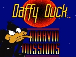 Speel met de consumptie pratende eend Daffy Duck in dit doldwaze avontuur.