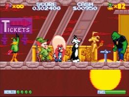 Daffy Duck in de rij achteraan in z'n eigen spel?