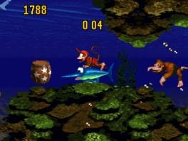 Gedurende het spel krijg je de mogelijkheid om verschillende dieren te berijden zoals deze zwaardvis!