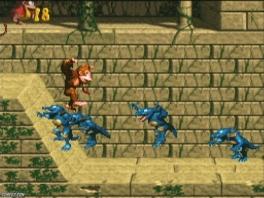 Wat die krokodillen precies met Donkey Kongs bananen willen is mij ook niet helemaal duidelijk.