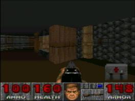 Gave 3D shooter in de style van <a href = https://www.mariosnes.nl/Super-Nintendo-game.php?t=Wolfenstein_3D target = _blank>Wolfenstein 3D</a>
