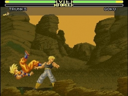 Ook in deze Dragonball game wordt er weer gevochten als Super Saiyans!