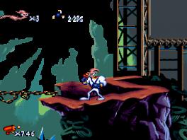 Earthworm Jim: Screenshot