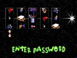 Ook toen al kon je wachtwoorden invullen om het spel te vereenvoudigen.