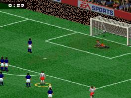 Ja, strafschoppen zaten ook toen al in de FIFA-games!