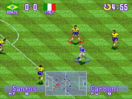 Fever Pitch Soccer: Screenshot