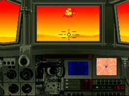 Al gaat de zon onder wij gaan door! Ook in deze game veranderd de achtergrond.