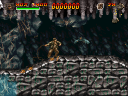 Verken grotten & dolhoven in deze 2D side scroller!