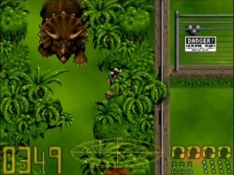 Jurassic Park speelt zich af in een park vol met dinosauriërs.