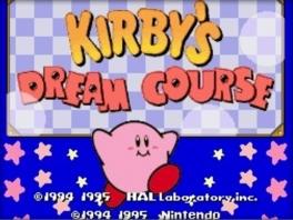 Dit spel speel je natuurlijk met Kirby, het roze schattige wezentje op de <a href = https://www.mariosnes.nl/Super-Nintendo-game.php?t=Super_Nintendo target = _blank>Super Nintendo</a>.