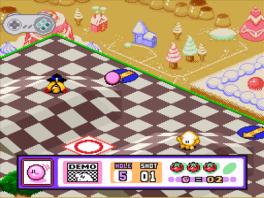 Kirby's Dream Course is 1 van de zeldzamere spellen op dit systeem.