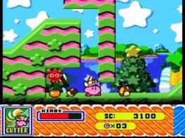 Kirby kan de krachten van de vijanden die hij opeet overnemen om nog sterker te worden!