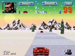 Racen in de sneeuw met zo'n auto? Dat is pas echt zonde!