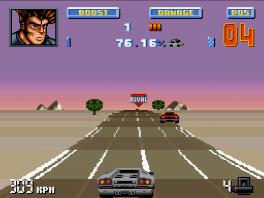 Ah kijk gewoon op de weg racen gebeurd ook nog in deze game.