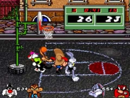 Speel basketbal zoals je het nog nooit gespeeld hebt. Juist! Met de Looney Tunes.