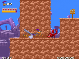 Looney Tunes Road Runner: Screenshot
