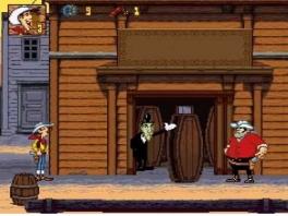 Speel het spel als Lucky Luke, de hoofdrol speler in de strips.