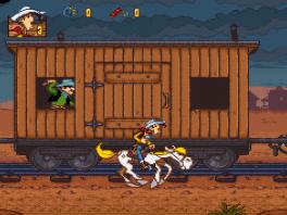 Samen met z'n trouwe paard Jolly Jumper kan de sheriff Lucky Luke alles aan.