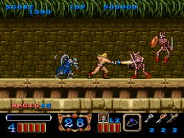 Magic Sword: Screenshot