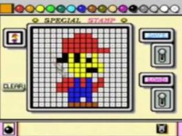 Mario Paint plaatjes